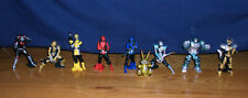 Bandai Go-Busters Power Rangers Beast Morphers Gashapon 9-Figure Set