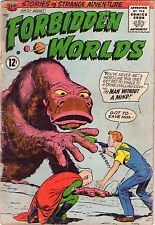 Forbidden Worlds #121 - Alien Monster & Ray Gun - 1964 (3.0) Wh
