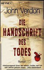 *- Die HANDSCHRIFT des TODES - von John VERDON tb (2010)