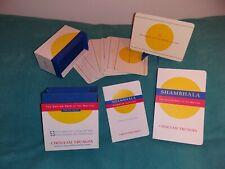 New ListingShambhala The Sacred Path of the Warrior Chögyam Trungpa Box Set Book & 53 Cards