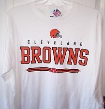 Cleveland Browns White Long Sleeve T Shirt Mens Large New w Tags Free Shipping