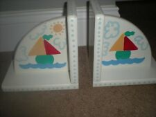 Book Ends Kids Handcrafted Boats