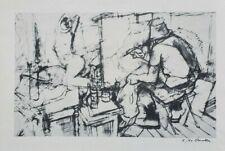 """N°175 Philippe ANCELLIN """"le peintre et son modèle"""" signé numérotée"""