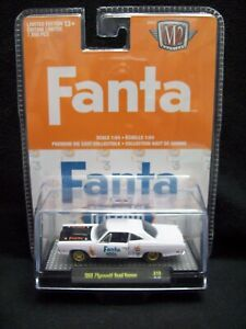 M2 Machines Fanta 1969 Plymouth Road Runner Limited Edition.