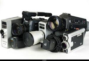 Lot 5 x Movie Camera Nizo Bauer Nizo  Beaulieu