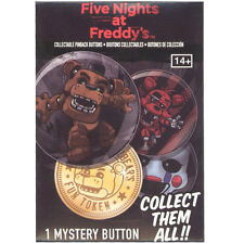 Funko Collectible Pinback Buttons -Five Nights at Freddy's -PACK (1 Random Pin)