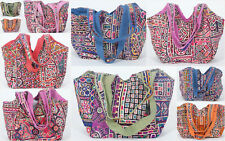 10 PC Lady Dior Tote/Shopping/College Women Handbags Gypsy Banjara Traditional*