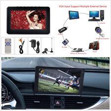 "DC12V 1 A portátil 9"" 1080P HD coche camión TFT LED HD TV DVB-T2 televisión digital"