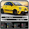 Fasce adesive per Fiat 500 ABARTH 595 strisce laterali adesivi fiancate 500 2016