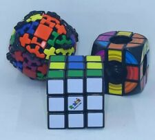 Hasbro Rubik's Cube The Void Mefferts Gears Puzzle Game Lot
