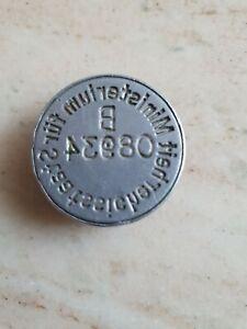 DDR MfS Ministerium für Staatssicherheit Stempel Siegel  B  Petschaft Original