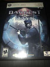 Darkest of Days (Microsoft Xbox 360, 2009) Tested & Working!