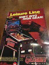 Arcade Trade Magazine Leisure Line July 1992 Replay / Play Meter Addams Family