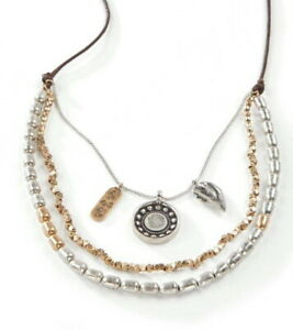 J. Jill Necklace  NWT   $49   Mixed-Metal Cascading Necklace -