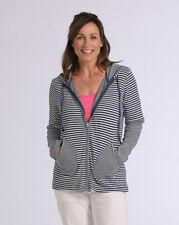 Fresh Produce Beachside Striped hoodie Medium