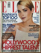ELLE Fashion Magazine - April 1998 Issue - with a Madonna Exclusive Interview
