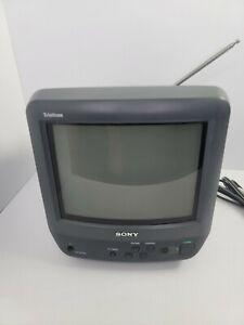 "Sony Trinitron Color CRT 9"" TV KV-9PT60 Retro Gaming TV Tested Working"