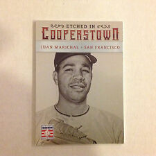 JOHNNY BENCH #42 REDS LEGEND  HOF 2015 panini ETCHED IN COOPERSTOWN SILVER