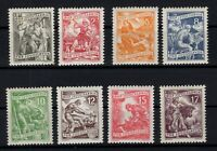P132328/ YUGOSLAVIA STAMPS – Y&T # 600 / 606A MINT MNH – COMPLETE – CV 137 $