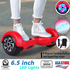 Ul2272 Led Hover board nht 6.5 Hubber boards Electric Self Balancing Scooter New