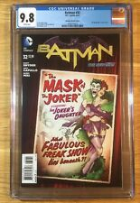 Batman 32, DC Bombshell Variant, New 52, CGC 9.8, graded NM/MT