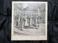 Roma 1885: Re Umberto I riceve l'ambasciata birmana