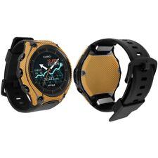 Skinomi Gold Carbon Fiber Skin & Screen Protector Smart Outdoor Watch WSD-F10