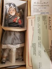 The Danbury Mint Doll Shelly Representing England 🇬🇧