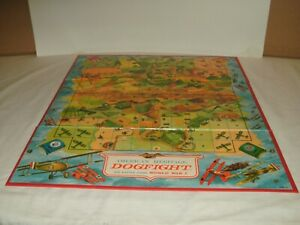 1963 American Heritage Dogfight Board Game Parts ~ Replacement Game Board Only ~