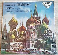 Tchaikovsky Symphony No. 4 Argenta DECCA SXL 2015 Stereo Phonic BLUEBACK