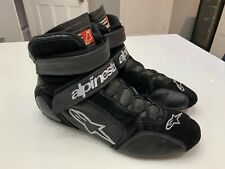 Alpinestars  Race Boots,Black/White, Size US 9, EUR 42 Excellent Condition