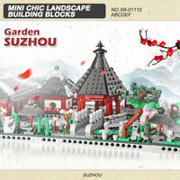 XingBao Building Blocks Chinese Suzhou Garden Gifts Toys DIY 409PCS 6 in 1 Toy