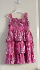 Sugar Pink girl's designer pink sun dress - Age 3-4 yrs