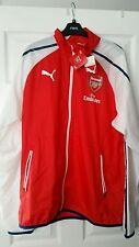 Arsenal Puma Inno Giacca Alto rischio rosso-bianco blu nuovo con etichette
