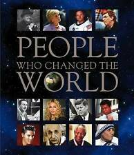 & PEOPLE WHO CHANGED THE WORLD Hardcover HISTORY BOOK Textbook Free Shipping