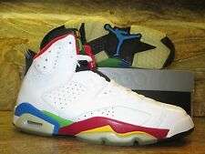 2008 Nike Air Jordan Olympic 6 VI Retro SZ 10.5 Beijing White Green 325387-161