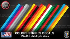 Color Stripes Sticker Decal Vintage BMW Germany Italy Toyota Fiat AUDI Bumper