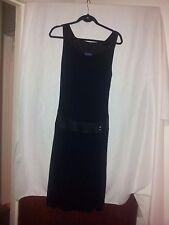 Trussardi Jeans ladies black dress size 42 (suit 10)
