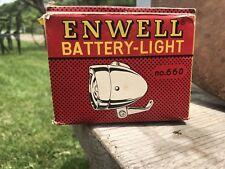 Vtg Enwell Battery Light No 660 Empty Box, Advertising