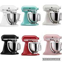 KitchenAid Artisan 5 Qt. Stand Mixer KSM150PS New in Box, Red, Black, Blue, Pink