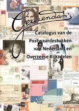 Geuzendam Catalogus Postwaardestukken Nederland Postal Stationery Netherlands
