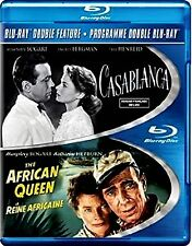 NEW BLU-RAY- HUMPHREY BOGART - CASABLANCA  + THE AFRICAN QUEEN // DOUBLE FEATURE