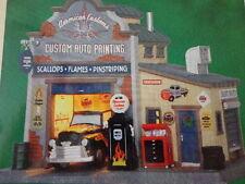 NEW Lemax American Customs Custom Auto Paint Shop Christmas Village Building