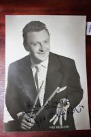 Postkarte Ansichtskarte Schauspieler Autogramm Musiker Fips Fleischer