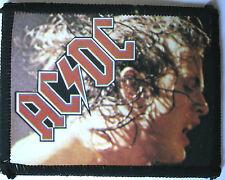 AC/DC Angus Original Vintage 1980`s Sew On Photo Card Patch not shirt lp cd