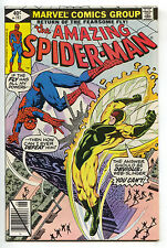 Amazing Spider-Man 193 Marvel 1979 NM- Spider-Woman Iron Man X-Men 122 Ad