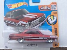 Hot Wheels '63 Chevy II RED Short Card