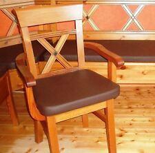 ledersitzkissen 40x40x4 Coussin en cuir Bankkissen de Siège chaise tabouret