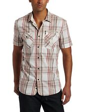Diesel Spowar Short Sleeve Shirt Slim Fit With Print on a back .