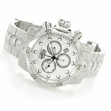 @NEW Invicta 52mm Venom Quartz Chronograph Stainless Steel Bracelet Watch 23885